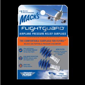 Mack's 飛行專用降噪降壓耳塞 附旅行盒(一對)