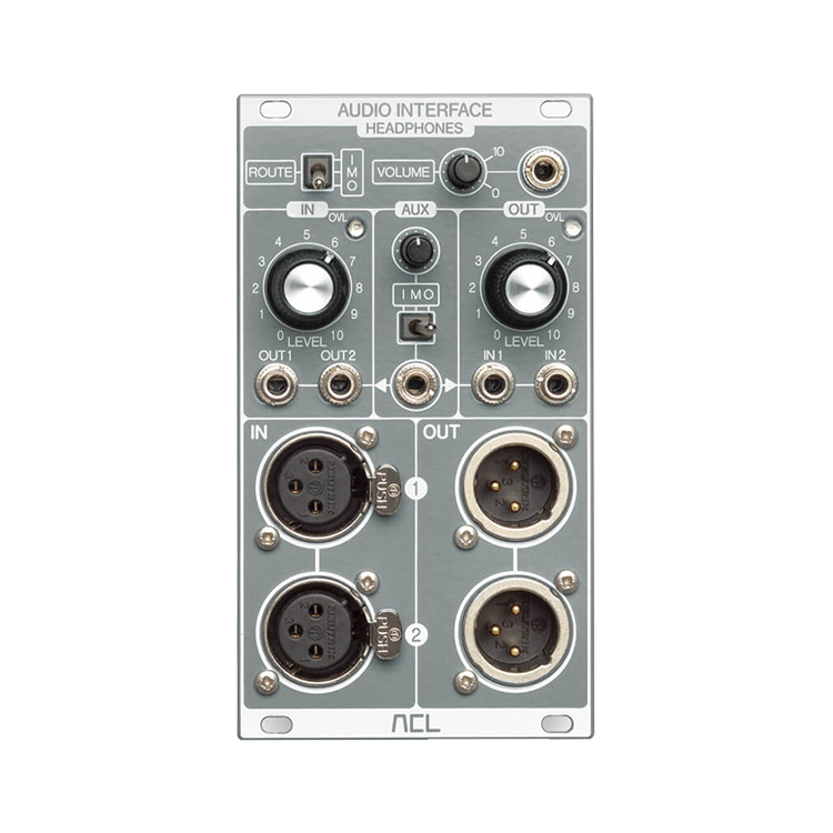 75 0009 audio interface front