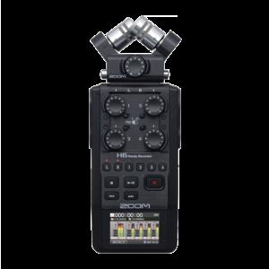 Zoom H6 All Black 最新 全黑簡配版本 手持錄音裝置