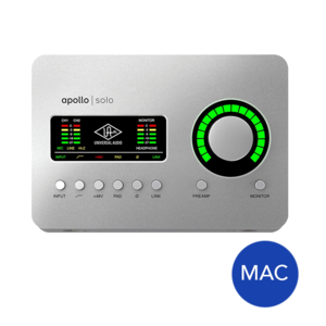 Universal Audio Apollo Solo Thunderbolt 3 錄音介面  (Heritage 版本)
