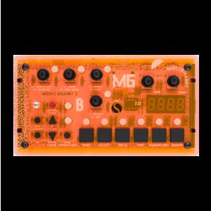 Bastl Instrument MicroGranny 取樣機 Distant Raver 橘