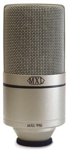 MXL 990 電容式麥克風