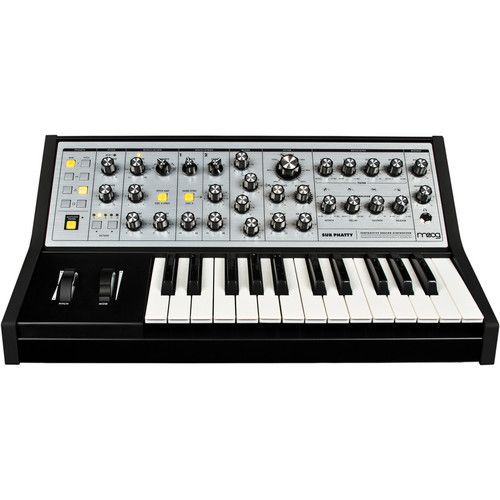 Moog Sub Phatty 合成器鍵盤