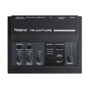 Roland TRI-CAPTURE USB 錄音介面
