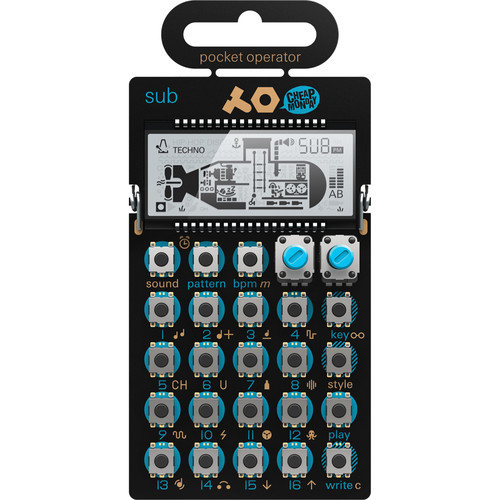 Teenage Engineering PO-14 Sub Bass 低音貝斯合成器