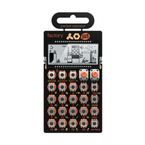 Teenage Engineering PO-16 Factory 合成器(贈殼 CA-16)