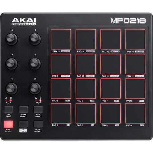 Akai MPD 218 MIDI 控制器 打擊板