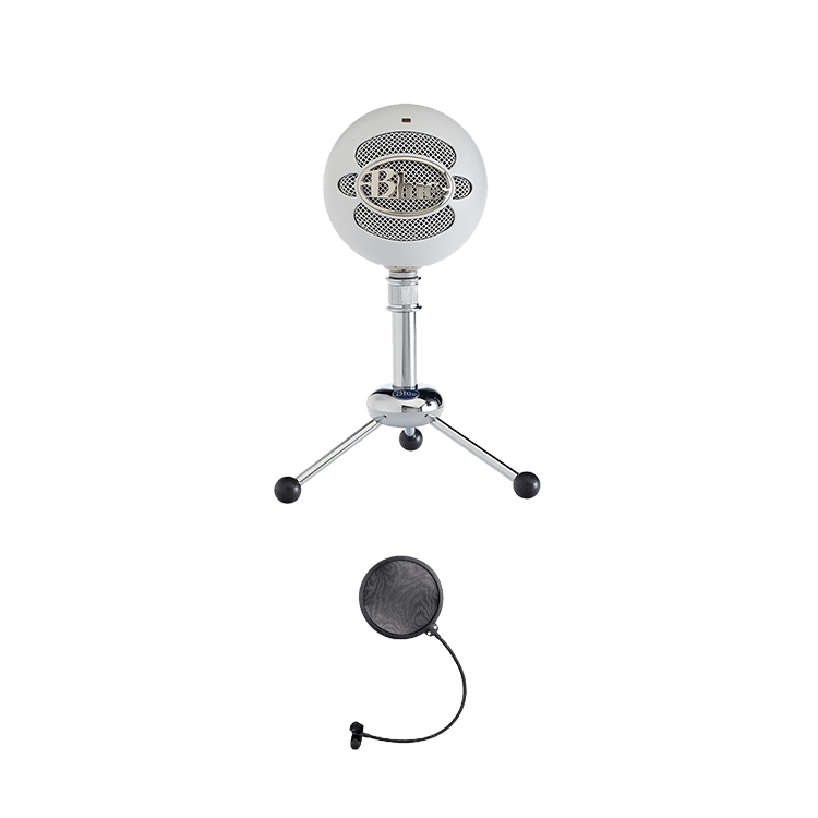 0011 blue snowball usb