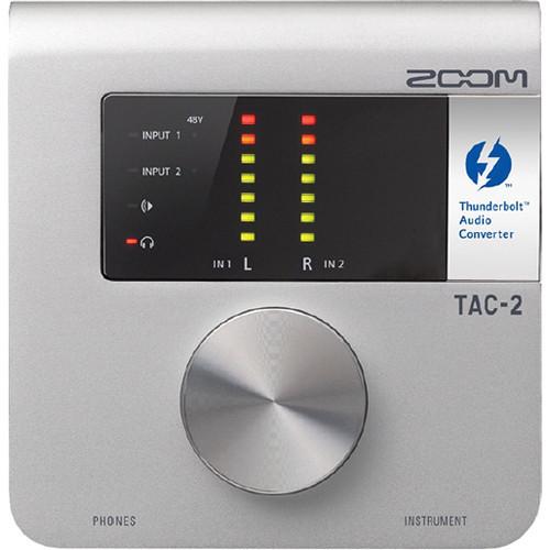 Zoom TAC2 Thunderbolt 錄音介面
