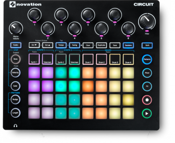 Novation Circuit 節奏機