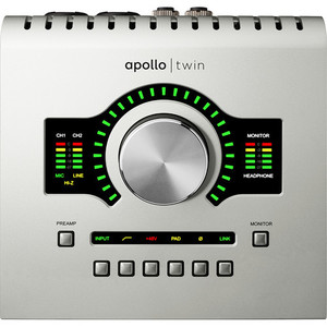 Universal Audio Apollo Twin Duo USB 錄音介面