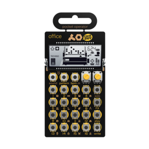 Teenage Engineering PO-24 Office lo-fi 節奏機