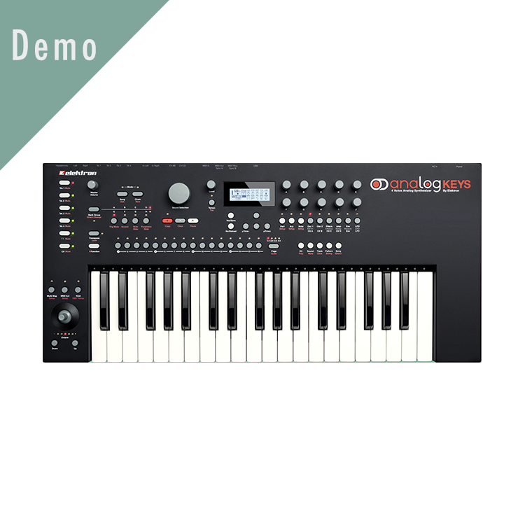 Demo analogkeys