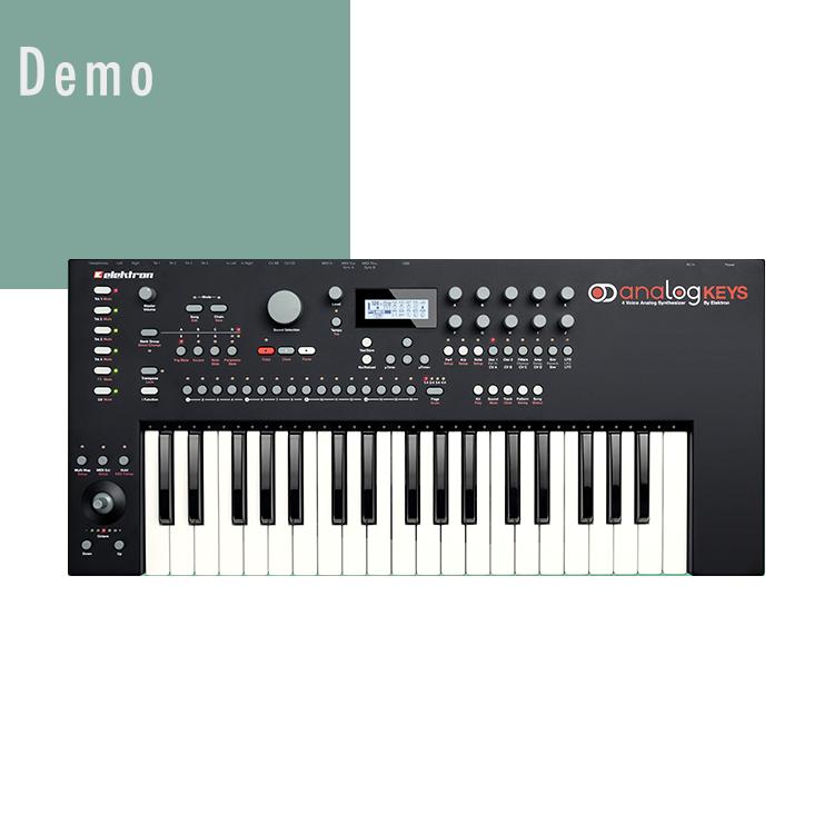 Demo analogkeys