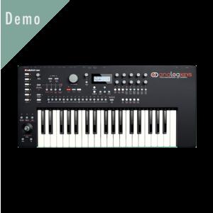 Thumb demo analogkeys
