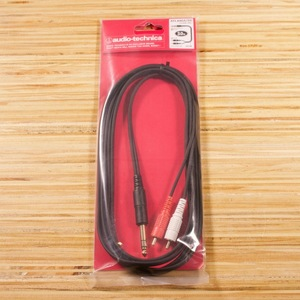 Audio-Technica ATL446A 6.3mm to RCA 導線