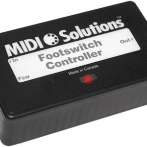 MIDI Solutions Footswitch 腳踏控制器