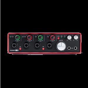 Focusrite Scarlett 18i8 USB USB 錄音介面 (2代)