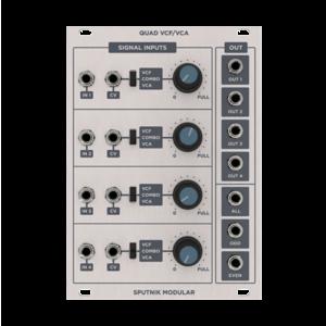 Sputnik Modular QUAD VCF/VCA