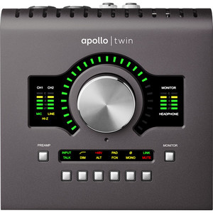 Universal Audio Apollo Twin MKII DUO (二代) 錄音介面