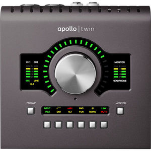 Universal Audio Apollo Twin MKII SOLO (二代) 錄音介面