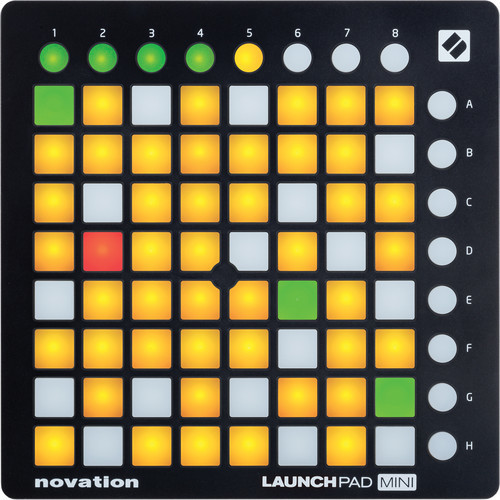 Novation Launchpad Mini MKII MIDI 控制器