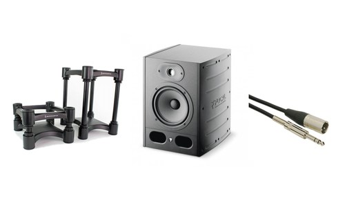 Focal Alpha 65 監聽喇叭 (一對) + IsoAcoustics ISO-L8R155 + Talent 喇叭線組合