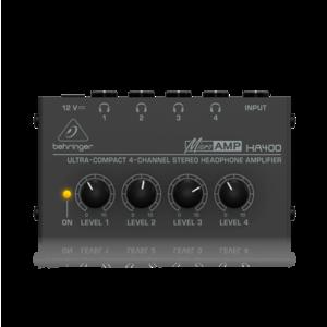 Behringer MICROAMP HA400 耳機分配器
