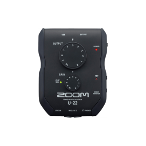 Zoom U-22 行動錄音介面