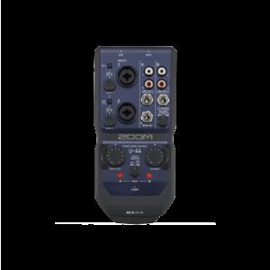 Zoom U-44 行動錄音介面