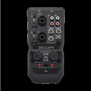Zoom U-24 行動錄音介面